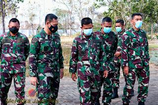 Staf Srenum Mabes TNI Kunjungi Mako Puskopaska Survey Tata Organisasi