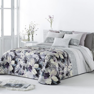 Colcha Bouti modelo Malei color Malva de Antilo Textil