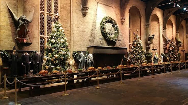 Hogwarts on Christmas