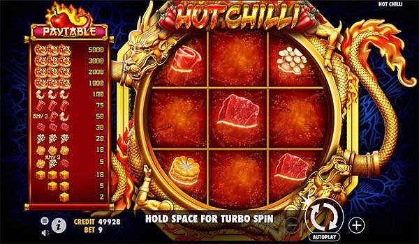 Main Gratis Slot Indonesia - Hot Chilli (Pragmatic Play)