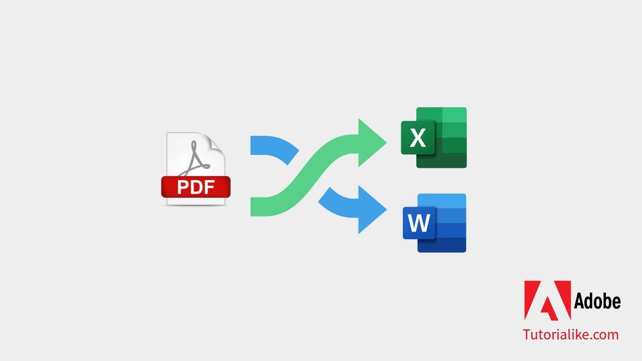 Tutorial Merubah File PDF ke Word dan Excel : 9 Langkah