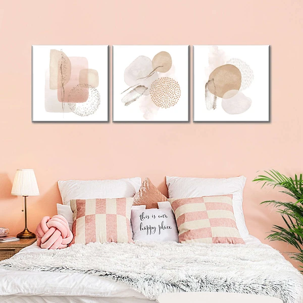Neutral Beige Colour To Decorate Bedroom