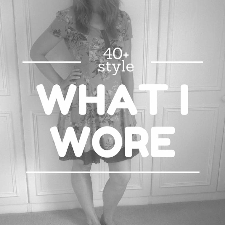 What I Wore: Creative Mondays Blog Hop