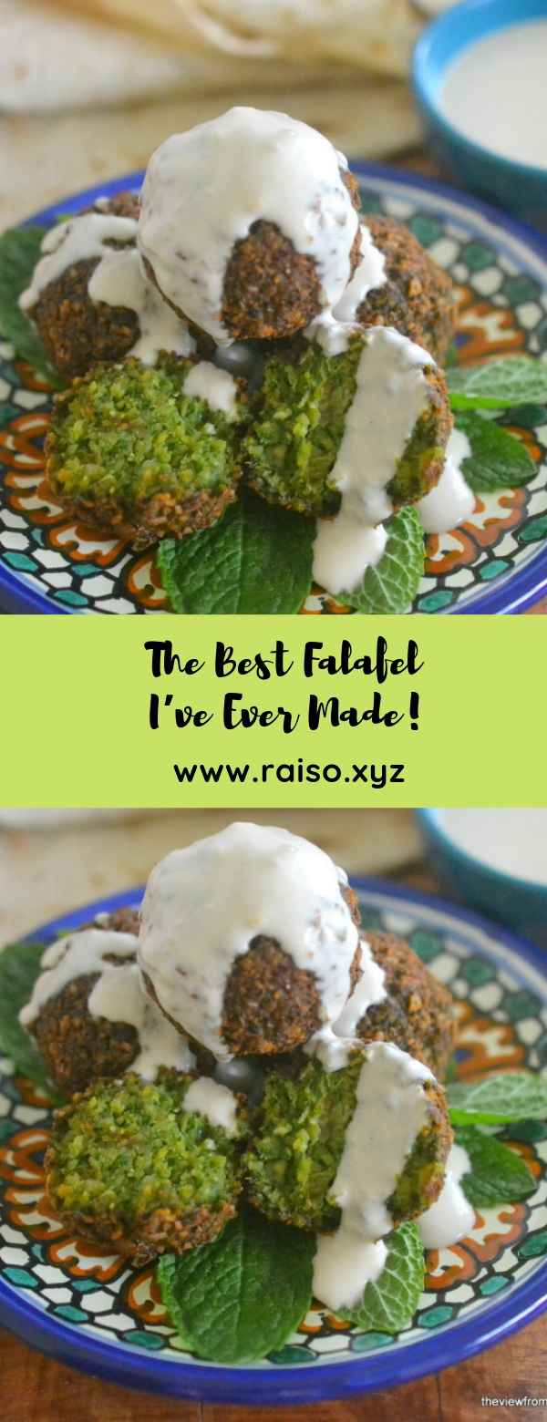 The Best Falafel I've Ever Made! #vegan #sidedish