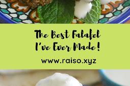 The Best Falafel I've Ever Made!