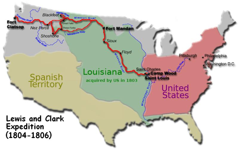 Map Of America Lewis And Clark.Anthropology Of Accord Friday Bookreview The Lewis Clark Expedition
