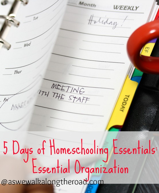 organizing your homeschool