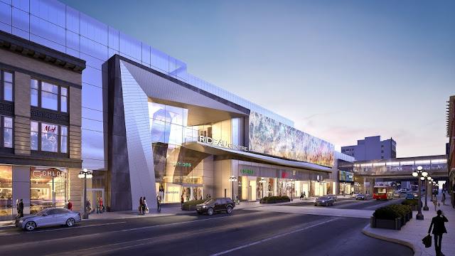 CF Rideau Centre em Ottawa