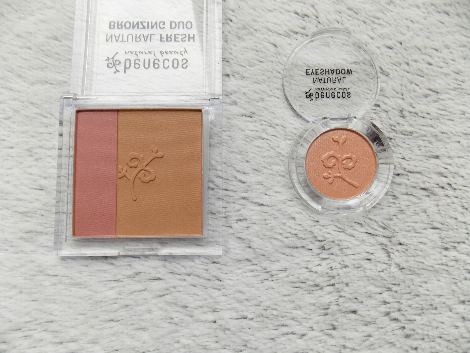 Benecos Bronzing Duo and Eyeshadow