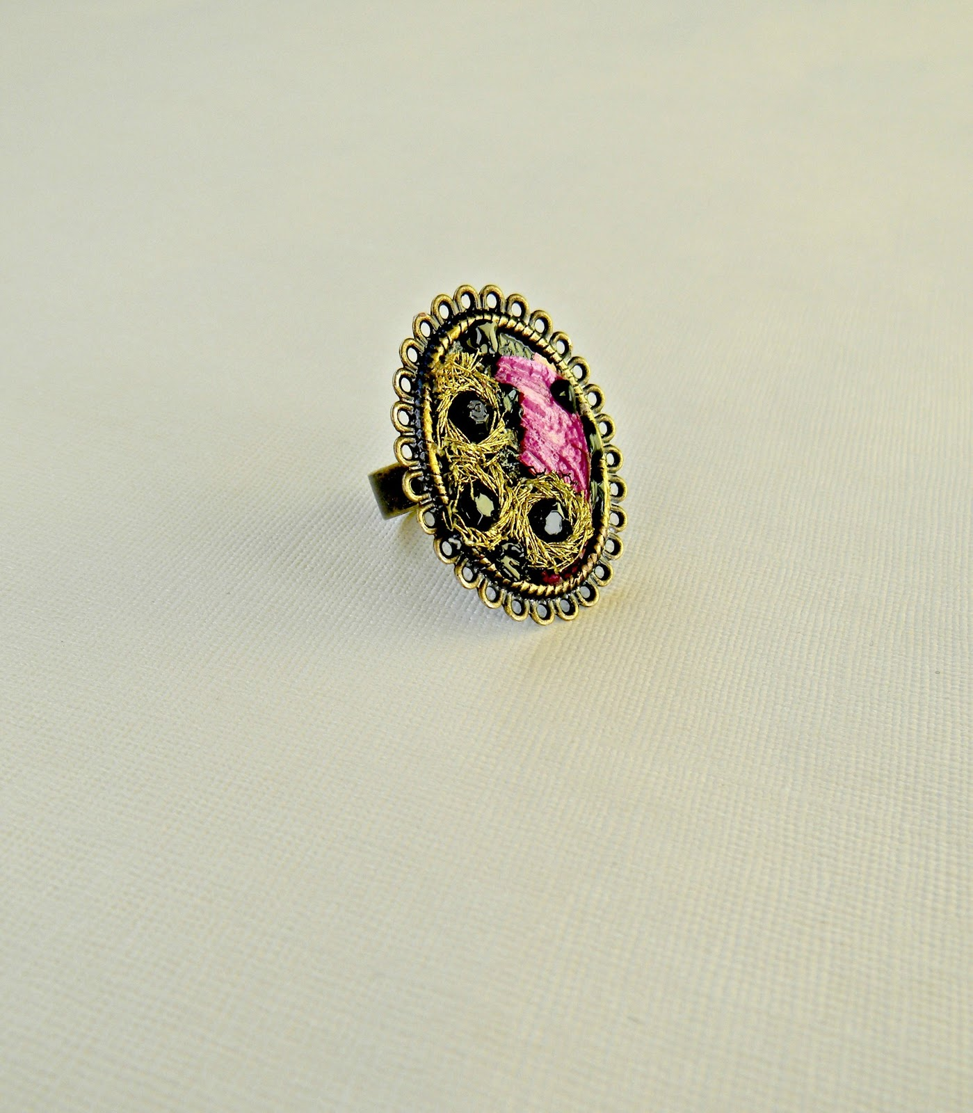"""Baroque Melancholy"" Ring"