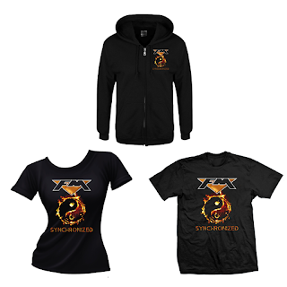 FM Clothing: SYNCHRONIZED album cover art - digital print Hoodie and T-shirts