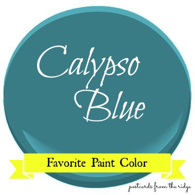 Every Tuesday A Favorite Paint Color Is Featured Today S Benjamin Moore Calypso Blue And I M Seriously Crushing On This One