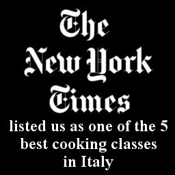Press and Release about our cooking classes in Italy - The New York Times