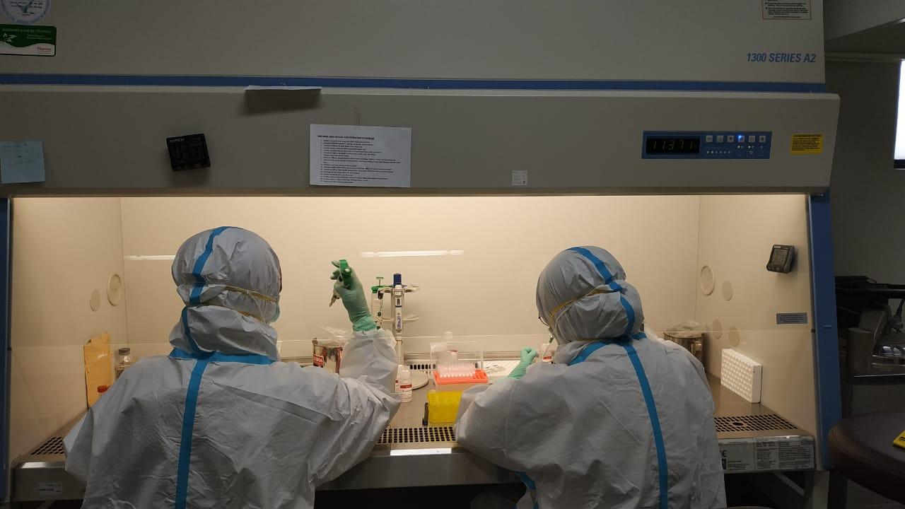 Kesiapan Laboratorium di Jabar Gelar Tes Swab