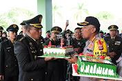 Peringatan HUT TNI ke - 74, Kapolresta Samarinda Berikan Ucapan Selamat
