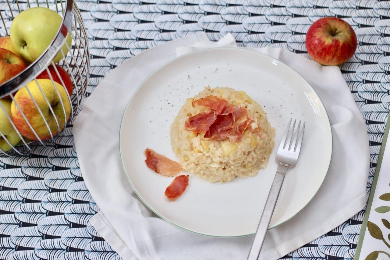 Rezept Apfel-Speck-Risotto