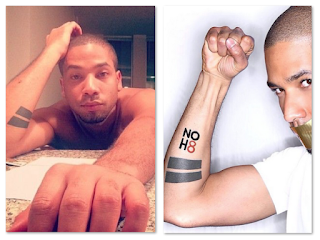 Jussie Smollett Tattoo