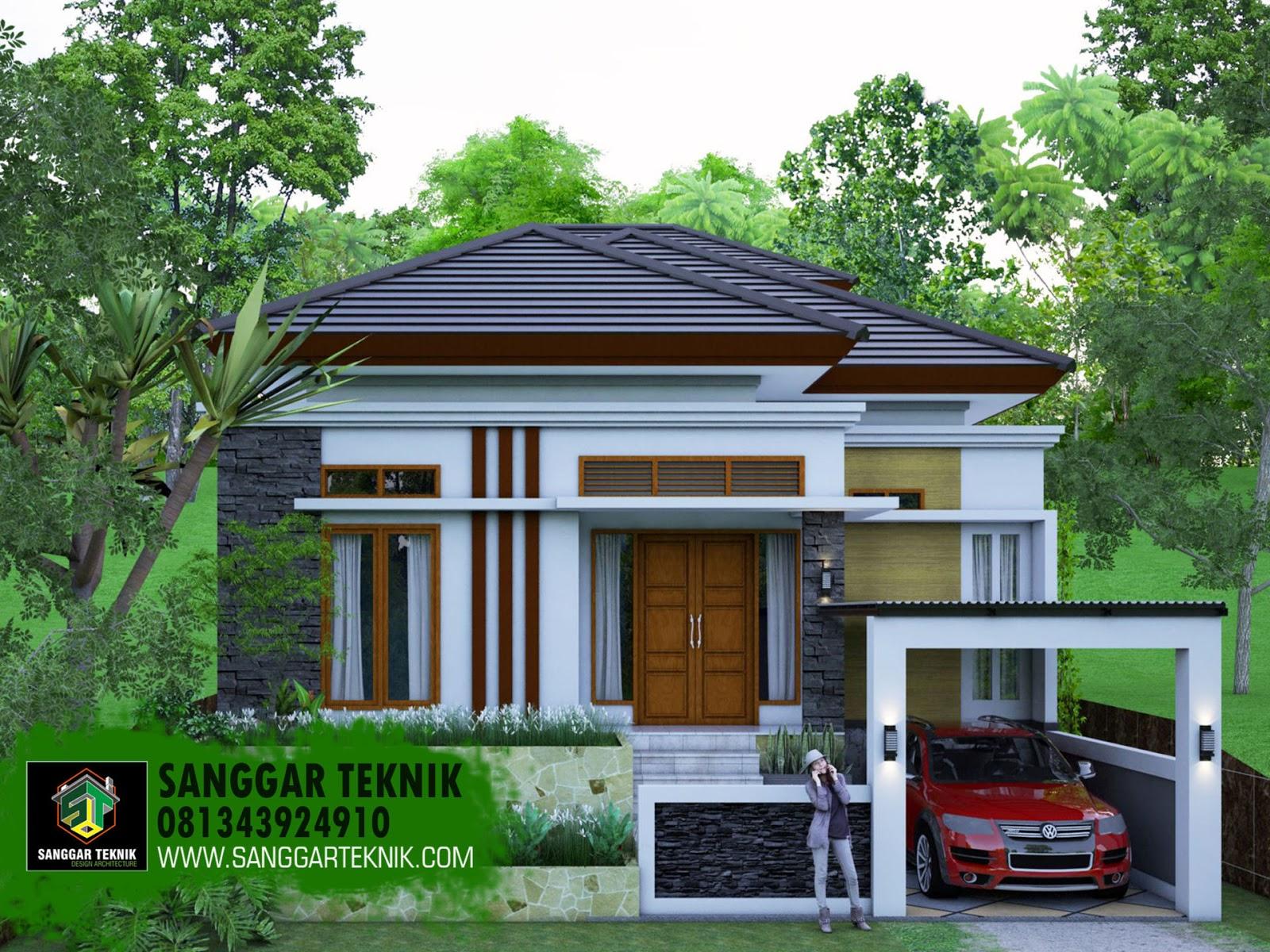 Desain Rumah Modern 10x 20 2 Lantai 2020 Sanggar Teknik