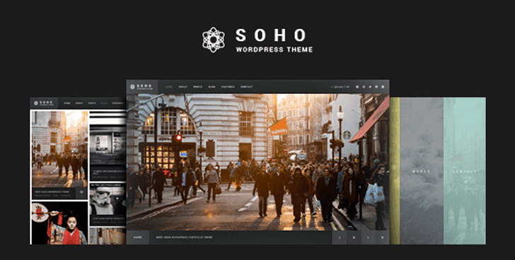 SOHO - Fullscreen Photo & Video WordPress Theme Download For Free