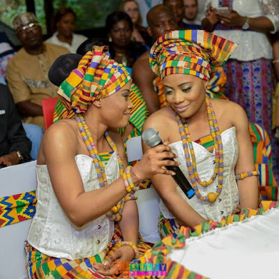 Wow! Twins Sisters Marry Twin Brothers in Ghana (PHOTOS