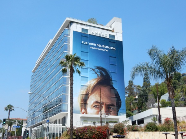 Giant Better Call Saul For Your Deliberation Emmy 2015 billboard