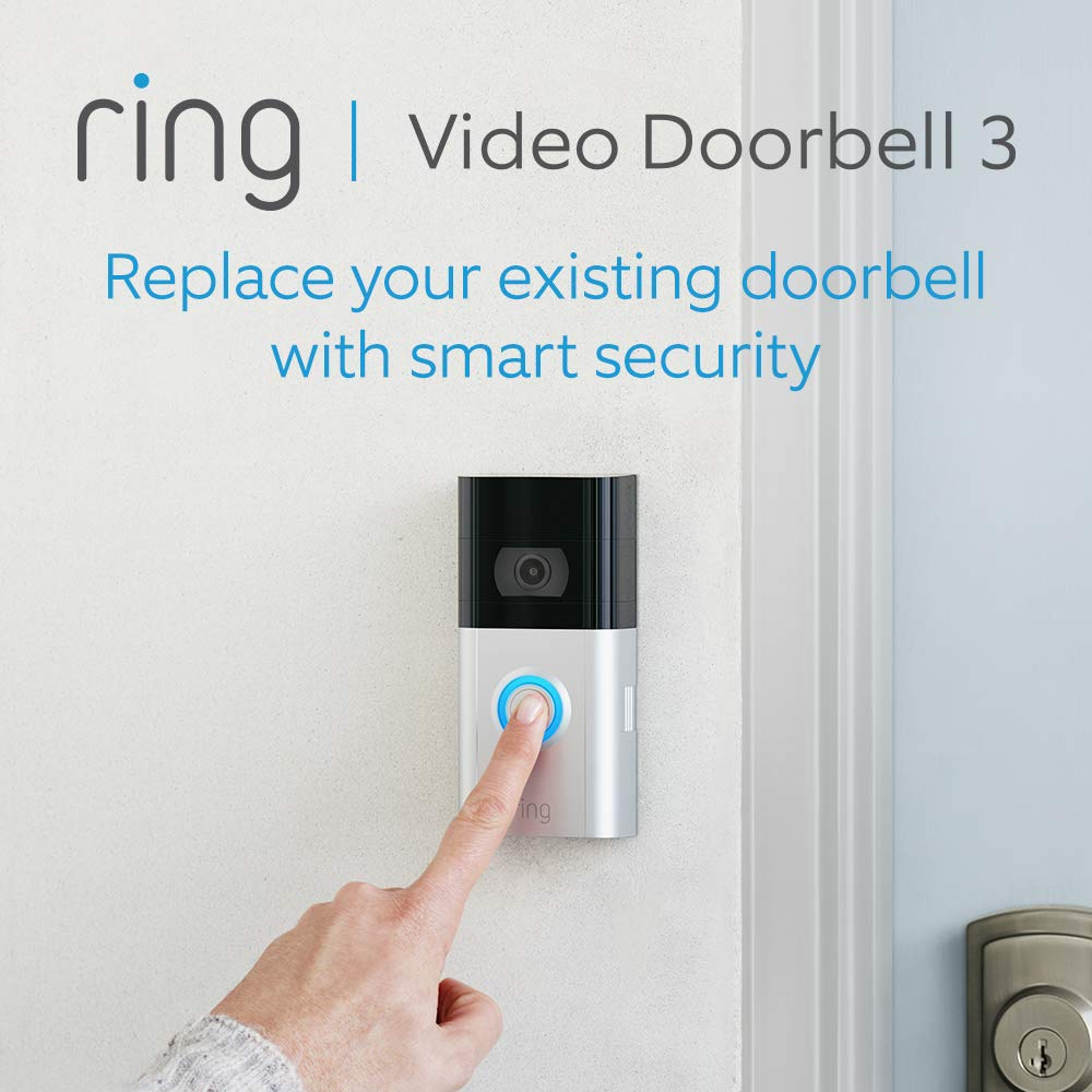 Amazon UK's £179 All-new Ring Video Doorbell 3 Review