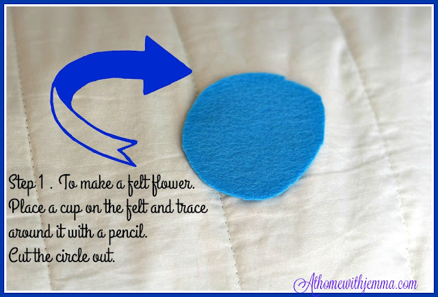 handmade, homemade, craft, felt, project, easy, simple, athomewithjemma.com