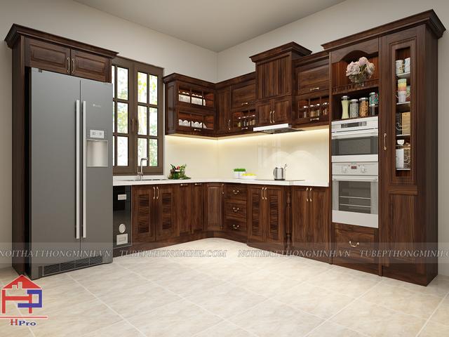 Lý do tủ bếp gỗ Hải Phòng được yêu thích