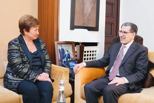 مراكش تحتضن سنة 2021 الإجتماعات السنوية لصندوق النقد الدولي ومجموعة البنك الدولي والمديرة العامة للصندوق تنوه بمكانة المغرب وإشعاعه ✍️👇👇👇
