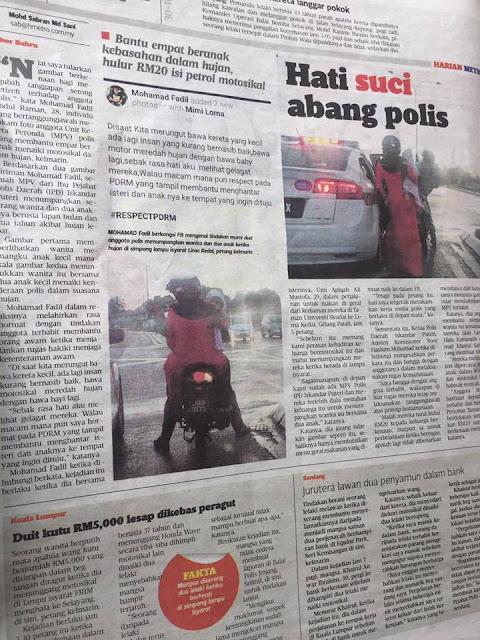 Aksi Polisi Ini Membuat Netizen Baper Berat Berita Terhangat Aksi Polisi Yang Menolong Ibu Dan Bayi Yang Kehujanan Ini Membuat Netizen Baper