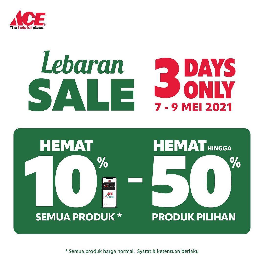 Promo ACE HARDWARE LEBARAN SALE - DISKON hingga 50%