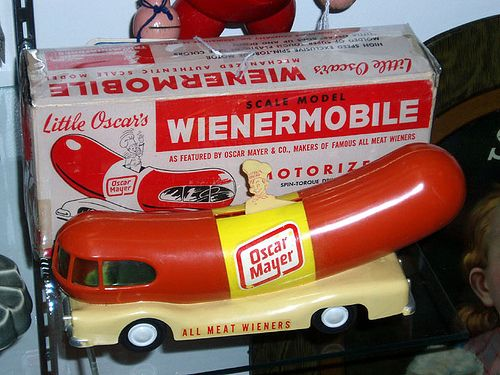 hover motor company wienermobile history for the fourth of july. Black Bedroom Furniture Sets. Home Design Ideas