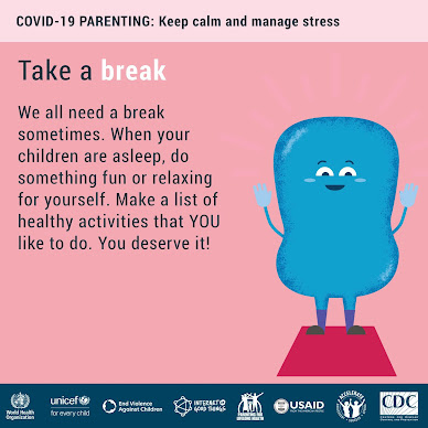 Take a Break WHO COVID advice