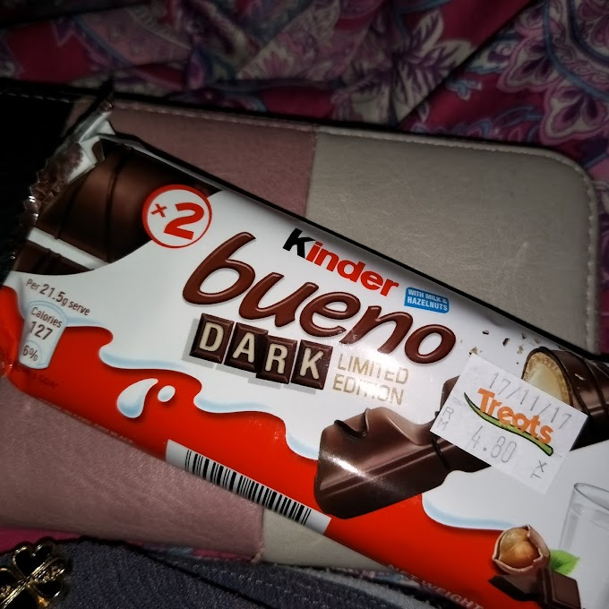 Kinder Bueno Dark Limited Edition kini dijual di Malaysia!
