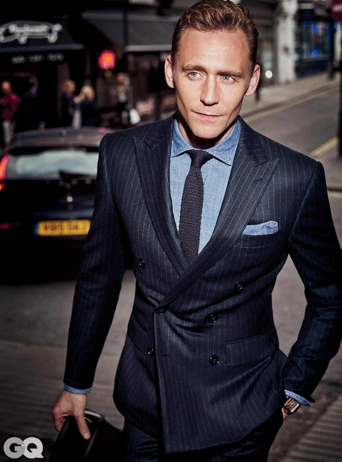 bc41a543b8d76 Tom Hiddleston Fashion  GQ Magazine  Sharpest Suits of the Season (2015)