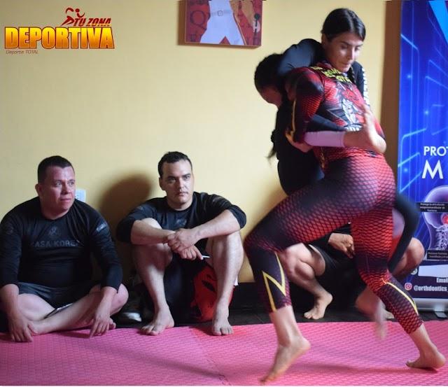 Combates de Jiu-jutsu en el centro de Ibagué