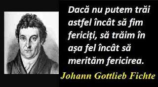 Maxima zilei: 19 mai - Johann Gottlieb Fichte