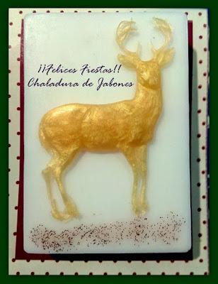 Jabón-natural-glicerina-ciervo-dorado-Chaladura-de-jabones