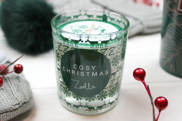 A review of Zoella Cosy Christmas Candle