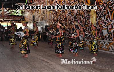 Tari Kancet Lasan (Kalimantan Timur)