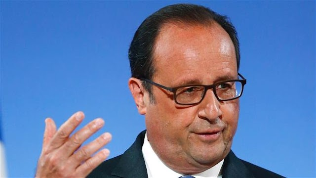 French President Francois Hollande criticizes Turkey's 'contradictory interventions' in Syria