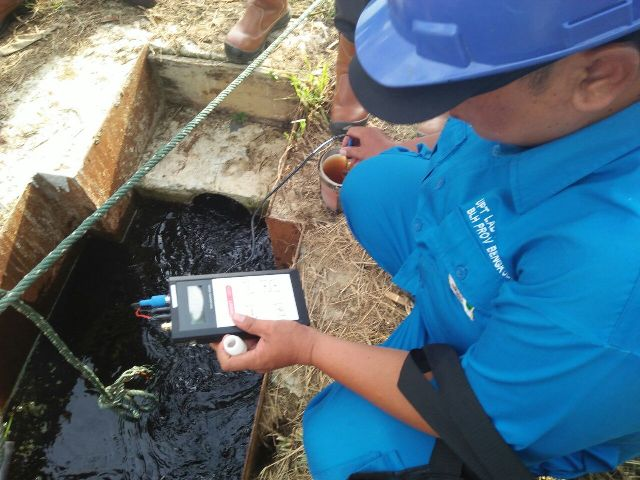 Pengujian Air Limbah Industri