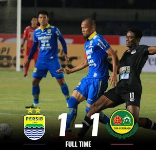 Persib Bandung vs Tira Persikabo 1-1 Highlights