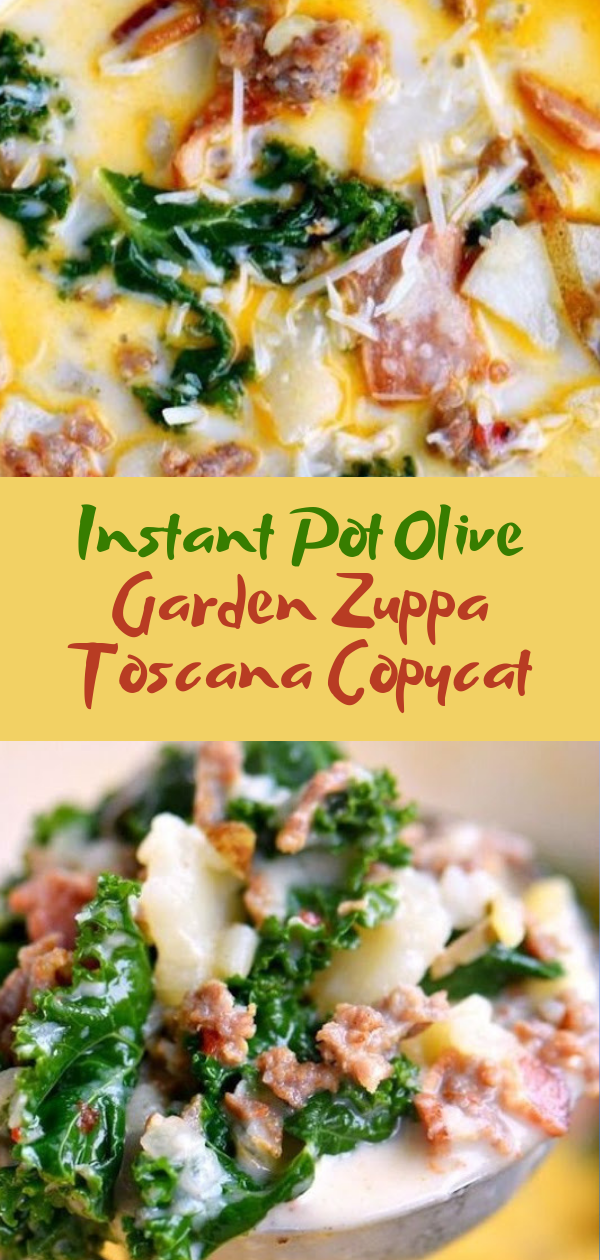 Healthy Recipes | Instant Pot Olive Garden Zuppa Toscana Copycat, Healthy Recipes For Weight Loss, Healthy Recipes Easy, Healthy Recipes Dinner, Healthy Recipes Pasta, Healthy Recipes On A Budget, Healthy Recipes Breakfast, Healthy Recipes For Picky Eaters, Healthy Recipes Desserts, Healthy Recipes Clean, Healthy Recipes Snacks, Healthy Recipes Low Carb, Healthy Recipes Meal Prep, Healthy Recipes Vegetarian, Healthy Recipes Lunch, Healthy Recipes For Kids, Healthy Recipes Crock Pot, Healthy Recipes Videos, Healthy Recipes Weightloss, Healthy Recipes Chicken, Healthy Recipes Heart, Healthy Recipes For One, Healthy Recipes For Diabetics, Healthy Recipes Smoothies, Healthy Recipes For Two, Healthy Recipes Simple, Healthy Recipes For Teens, Healthy Recipes Protein, Healthy Recipes Vegan, Healthy Recipes For Family, Healthy Recipes Salad, Healthy Recipes Cheap, Healthy Recipes Steak, Healthy Recipes For School, Healthy Recipes Slimming World, Healthy Recipes Fitness, Healthy Recipes Baking, Healthy Recipes Sweet, Healthy Recipes Indian, Healthy Recipes Summer, Healthy Recipes Vegetables, Healthy Recipes Diet, Healthy Recipes No Meat, Healthy Recipes Asian, Healthy Recipes On The Go, Healthy Recipes Fast, Healthy Recipes Ground Turkey, Healthy Recipes Rice, Healthy Recipes Mexican, Healthy Recipes Fruit, Healthy Recipes Tuna, Healthy Recipes Sides, Healthy Recipes Zucchini, Healthy Recipes Broccoli, Healthy Recipes Spinach,   #healthyrecipes #recipes #food #appetizers #dinner #instantpot #olive #garden #zuppa #toscana