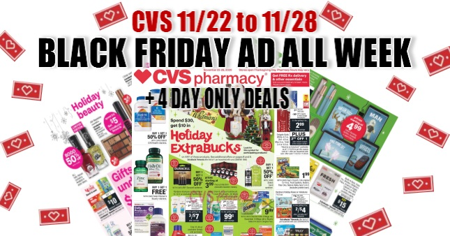 CVS Black Friday Ad All Week 11-22-11-28