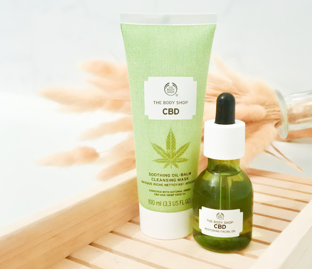 La gamme CBD de The Body Shop