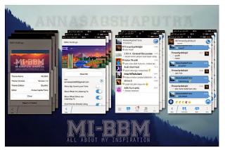 BBM MOD MIX NEW VERSI 2.7.0.23 APK