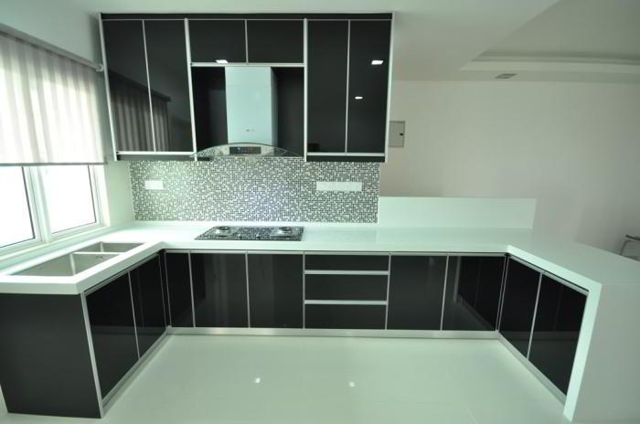 kitchen set minimalis modern 2017