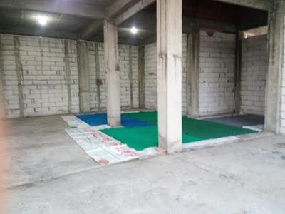 Pembangunan Cor Lantai 2 Masjid Al Ukhuwah