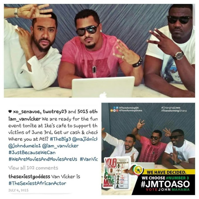 Van Vicker issues disclaimer on his image being used to campaign for NDC